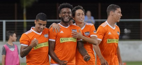 Michael Salazar debuts with the Houston Dynamo in US Open Cup